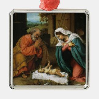 キリストの出生 メタルオーナメント