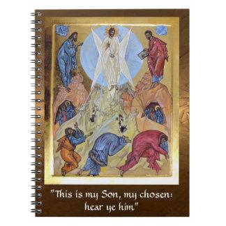 キリストの変容 ノートブック