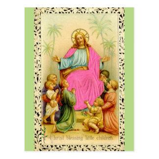 キリストの天恵の郵便はがき ポストカード