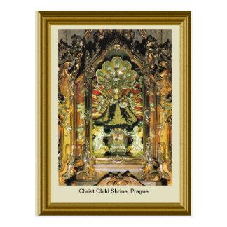 キリストの子供の神社、プラハ ポストカード