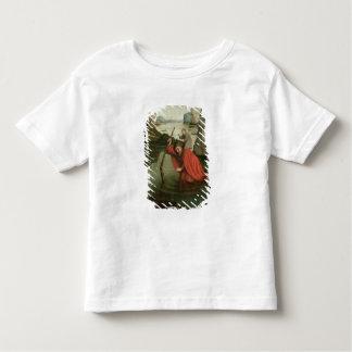 キリストの子供を運ぶSt Christopher トドラーTシャツ
