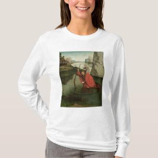 キリストの子供を運ぶSt Christopher Tシャツ