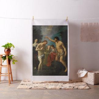 """""""キリストの洗礼""""の芸術の習慣の生地 ファブリック"""