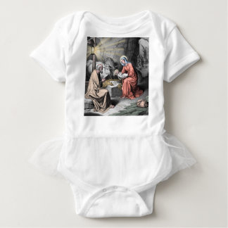 キリストの誕生 ベビーボディスーツ