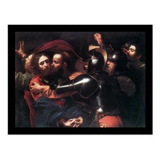 キリストのCaravaggioの取得 ポストカード