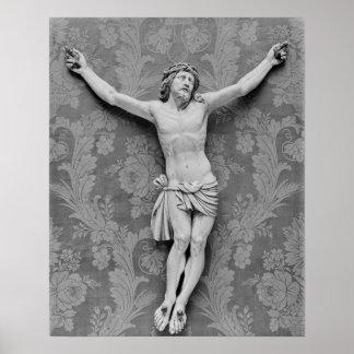 キリストはミケランジェロBuonarrotiによって、制しました ポスター