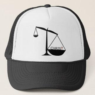 キリストは宗教-トラック運転手の帽子より素晴らしいです キャップ