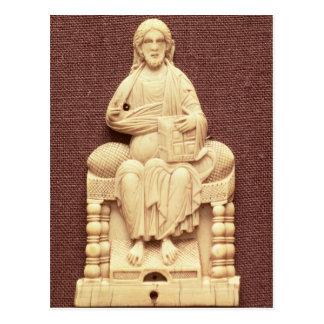 キリストは、ビザンチン、10第11世紀即位しました ポストカード