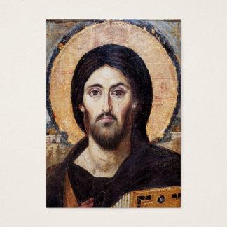 キリストまたは正教会のカスタムのアイコン 名刺