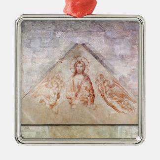 キリストを描写するTympanum Redemptor メタルオーナメント