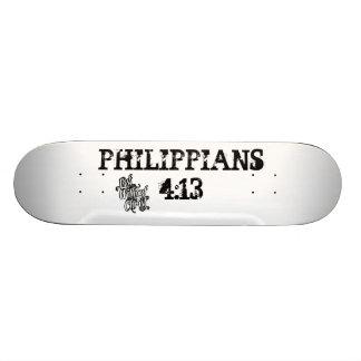キリストフィルの4:13 SCATEBOARDなしに失った スケートボード