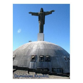 キリスト救い主の彫像、ドミニカ共和国 ポストカード