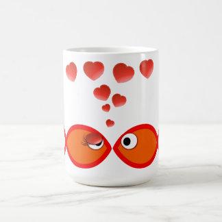 キリスト教のバレンタインオレンジv2 コーヒーマグカップ