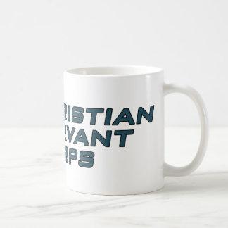 キリスト教の使用人隊 コーヒーマグカップ