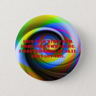 キリスト教の信頼ボタン 缶バッジ