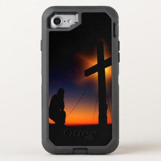 キリスト教の信頼 オッターボックスディフェンダーiPhone 8/7 ケース