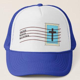 キリスト教の切手の帽子 キャップ