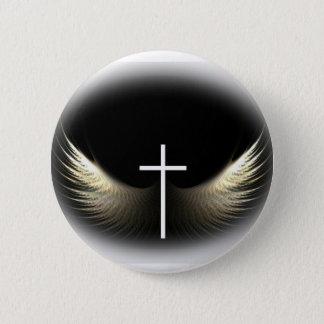 キリスト教の十字および神霊 缶バッジ