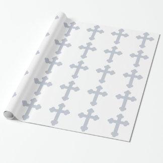 キリスト教の十字の包装紙 包装紙