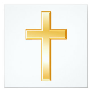 キリスト教の十字の記号 13.3 スクエアインビテーションカード