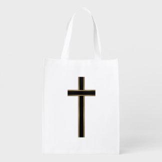 キリスト教の十字 エコバッグ