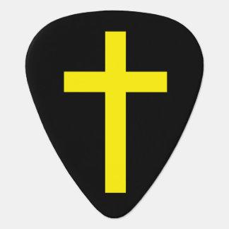 """""""キリスト教の十字"""" ギターピック"""