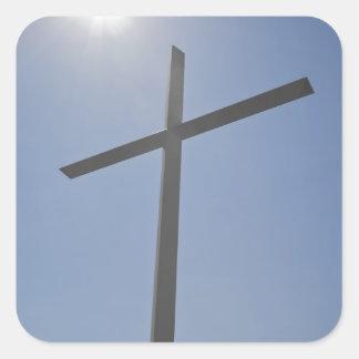 キリスト教の十字 スクエアシール