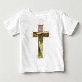 キリスト教の十字 ベビーTシャツ