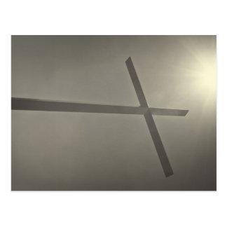 キリスト教の十字 ポストカード