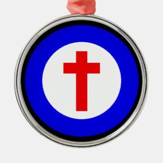 キリスト教の十字 メタルオーナメント