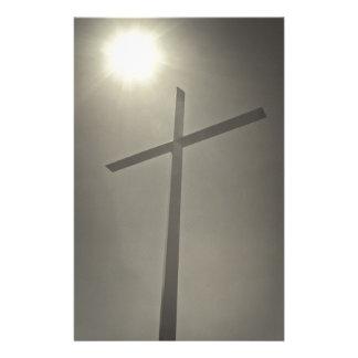 キリスト教の十字 便箋
