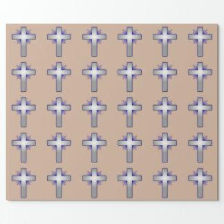 キリスト教の十字 包装紙