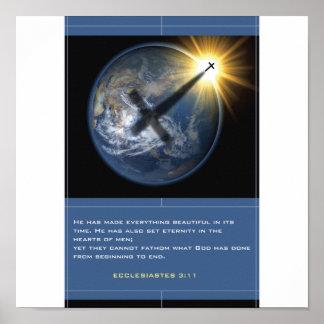 キリスト教の地球 ポスター