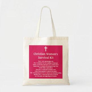キリスト教の女性の存続キット トートバッグ