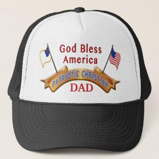 キリスト教の父の日のギフトのアイディアの愛国心が強い帽子 キャップ