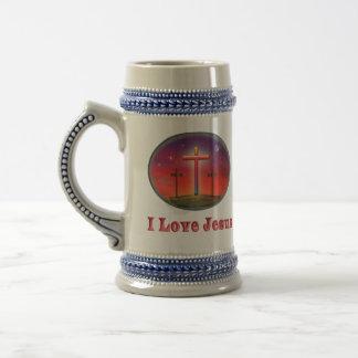 キリスト教の芸術 ビールジョッキ