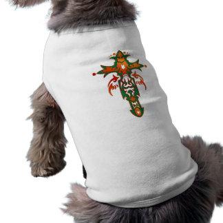 キリスト教の華美な十字36 ペット服