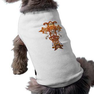 キリスト教の華美な十字58 ペット服