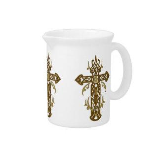 キリスト教の華美な十字70 ピッチャー