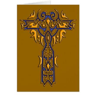 キリスト教の華美な十字8 カード