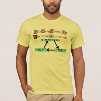 キリスト教の議論(人)の聖三位一体 Tシャツ
