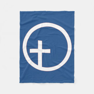 キリスト教のUniversalist記号 フリースブランケット
