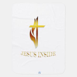 キリスト教プロダクトの中のイエス・キリスト ベビー ブランケット