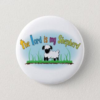 キリスト教ボタン-主は私の羊飼いです 5.7CM 丸型バッジ