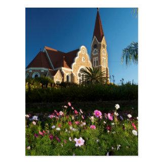キリスト教会の低い角度眺め ポストカード