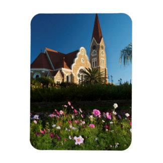 キリスト教会の低い角度眺め マグネット