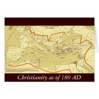 キリスト教180の広告 カード