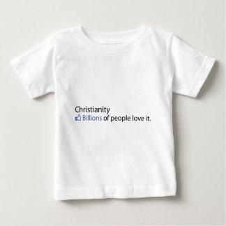 キリスト教; 人々愛の十億それ ベビーTシャツ