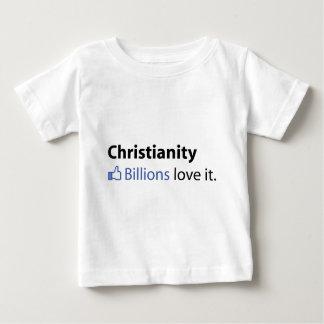 キリスト教; 十億愛それ ベビーTシャツ