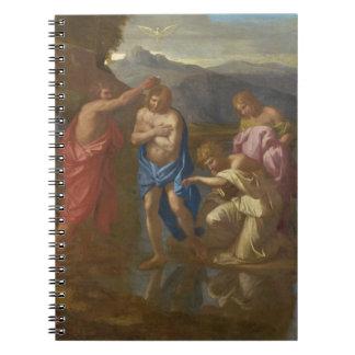 キリスト1641-42年の洗礼 ノートブック